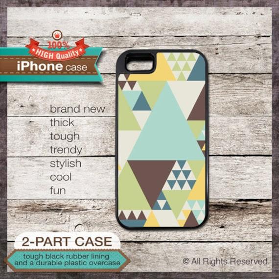 iPhone 6, 6+, 5 5S, 5C, 4 4S, Samsung Galaxy S3, S4 - Geometric Retro - Design Cover 42