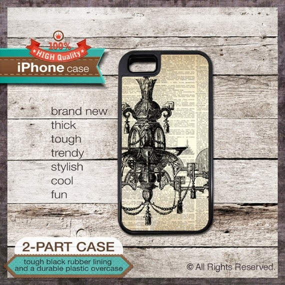 iPhone 6, 6+, 5 5S, 5C, 4 4S, Samsung Galaxy S3, S4 Vintage Chadelier on Dictionary Page