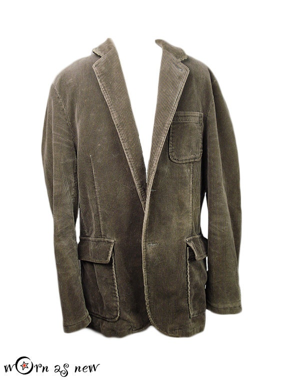 Blazer Coat Mens Mens Corduroy Sport Coat