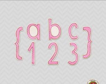 Merry Merry Digital Alphabet Set