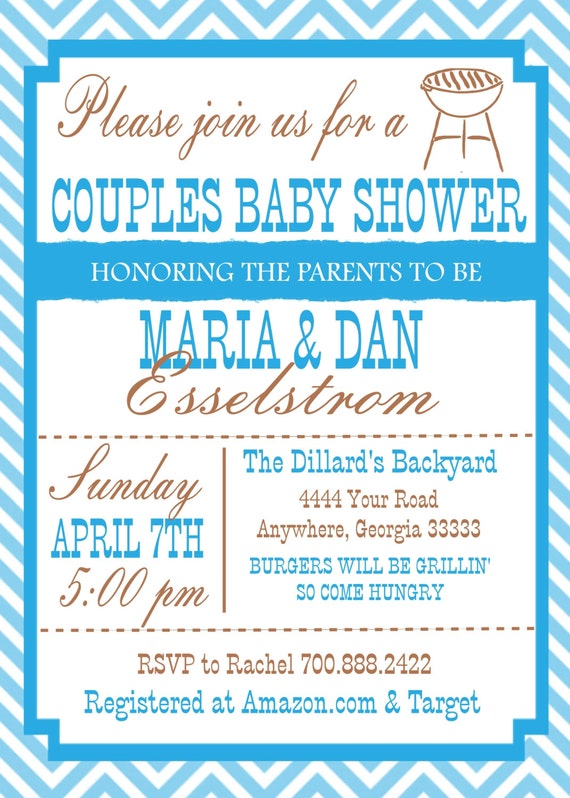 items similar to couple baby shower invitation on etsy