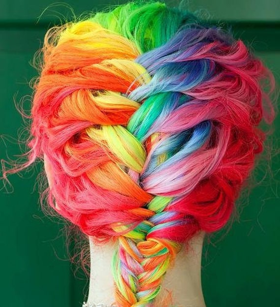 Hair Chalk - Hair Chalking Pastels - Temporary Hair Color - Salon Grade - 1 Large Stick - Choose From 48 COLORS