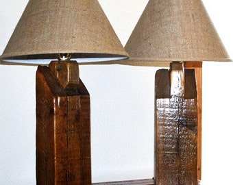 Barn Wood Lamp
