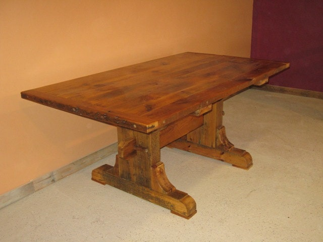 barnwood table barnwood dining table reclaimed wood table