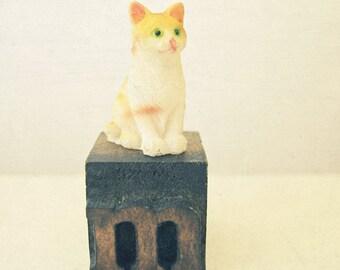 Nursery Art, Childrens Wall Art, Kids Decor, Still Life Photography, Retro Wall Art, Animal Nursery Print - M is for Meow