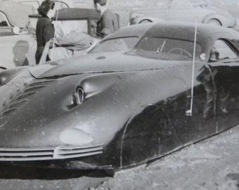 Vintage 1940's Prototype Automobile at Custom & Classic Car Show Snapshot Photo - The Phantom Corsair - Free Shipping