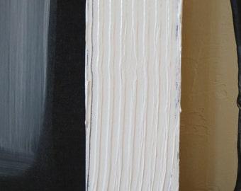 White on Black, texture
