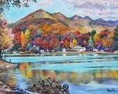 Seven Sisters, Lake Tomahawk, Black Mountain North Carolina