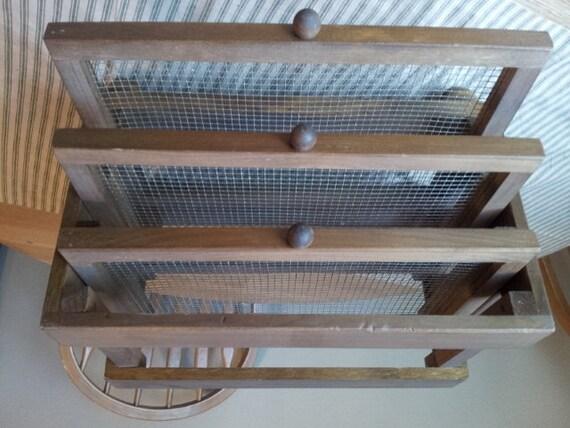 Vintage Wood Drying Rack
