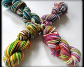 Mini-Skein Set - 40 Yards/10 grams each - Bliss Sock Yarn - 100 Superwash Merino Wool