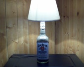 Jim Beam Bourbon Bottle Lamp