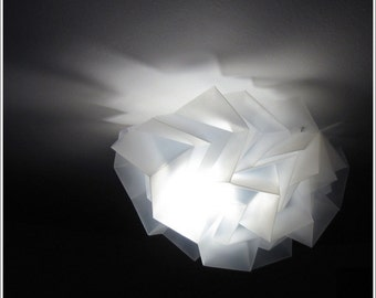 "Ceiling Light ""Half Dome HedgeHog"" Handmade & Origami"