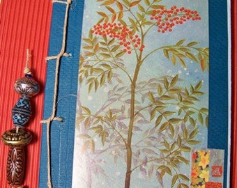 Journal with Oriental Flare made from Recycled materials
