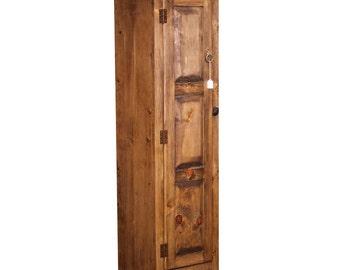 rustic bookcase (6514)