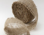 Jute biodegradable Ribbon - Natural - By the metre