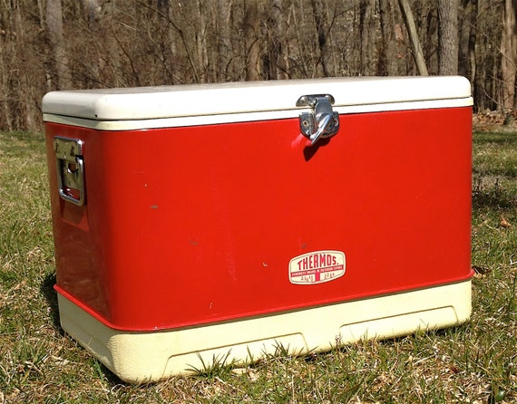 Vintage Thermos Cooler 121