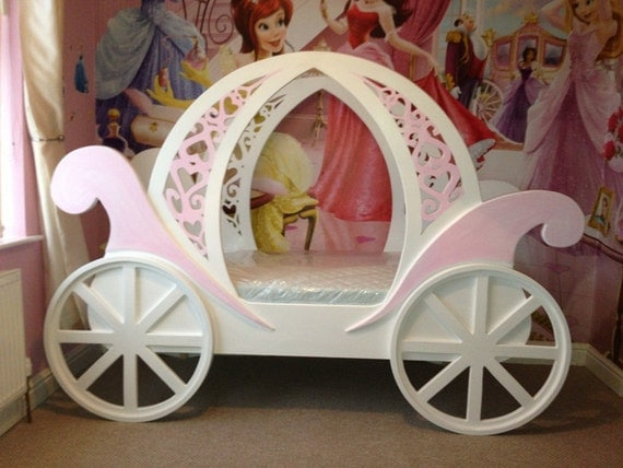 Disney Princess Castle And Coaches Baby Bed