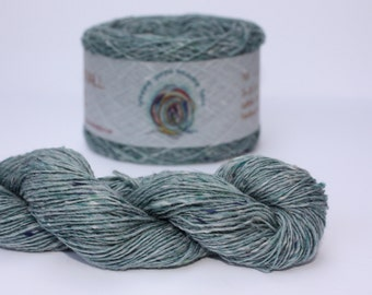 Spinning Yarns Weaving Tales - Tirchonaill 519 Duck Egg Green 100% Merino for Knitting, Crochet, Warp & Weft