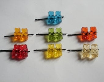 haribo sweet hair clip - Gummy Bears