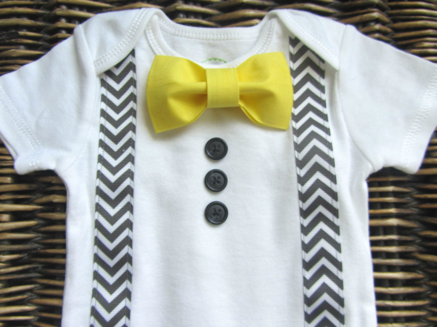 Baby Boy Clothes Infant Bow Tie Boys First Birthday