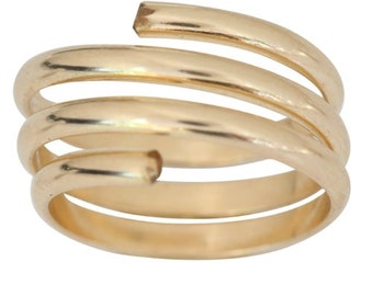14kt gold toe ring size 4.5