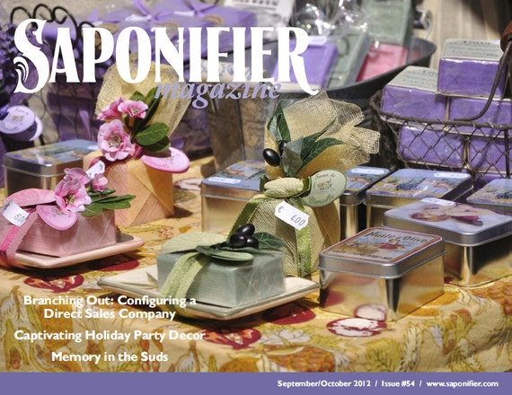 Saponifier Back Issue: Sept/Oct 2012