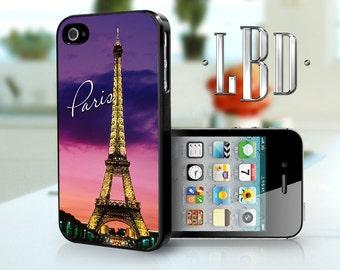 iPhone 4 4s Case - Paris Purple iP4