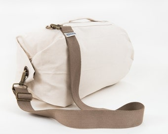 12 0z Canvas Duffel Bag - Medium Calico