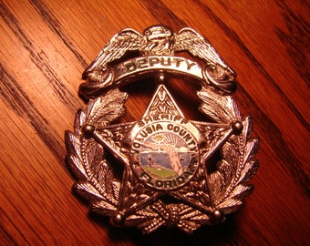 Popular items for sheriffs badge on Etsy