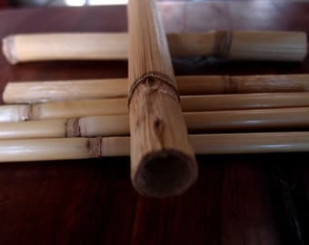 Bamboo Sticks Water Cane  - 6 to 7 inch pack of 14