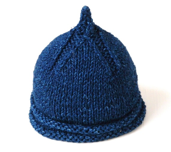 Knitting On The Round Hat : Items similar to in the round and flat knitting