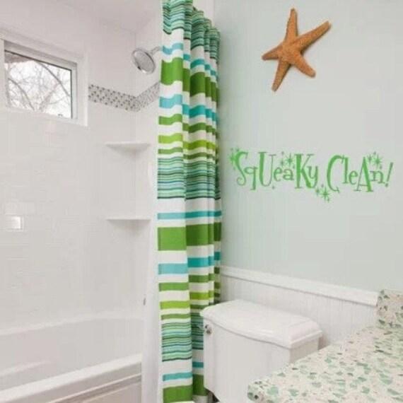 Bathroom wall decal  Etsy