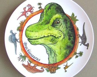 DINOSAUR Plate - Brachiosaurus