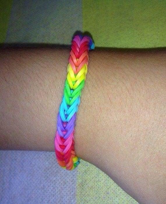 Mini Rainbow Loom Bracelet Mini-rainbow Loom Bracelet