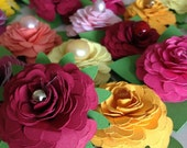 5 Handmade flowers and FREE Perfect Pearls