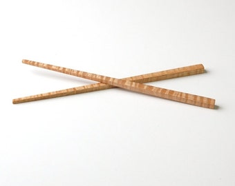 Curly Maple Chopsticks