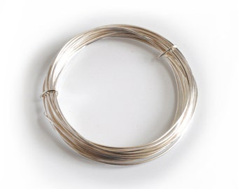 Proops Silver Plated Wire 1.2mm x 3m. Various Quantities Available (X1121) Free UK Postage.