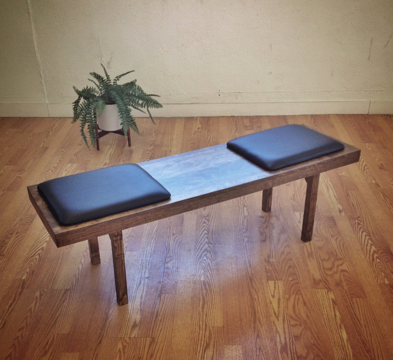 Olson Platform Bench Mid Century Modern Furniture Design