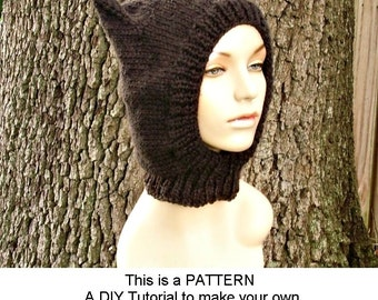 Ladies Balaclava Knitting Pattern : Popular items for balaclava on Etsy