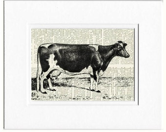 cow dictionary page print