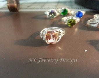 Easy Snap Set or Sew On Crystal Ring Tutorial