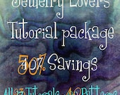 Wire Jewelry Lovers Tutorial Special, Get ALL 24 Tutorials, 43 Patterns and Variations,  Save Over 100.00 & 8 FREE Tutorials , Wire Jewelry