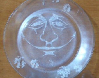 Man in the Moon Plate