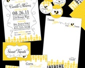 Mommy to Bee DIY Printables Party Set