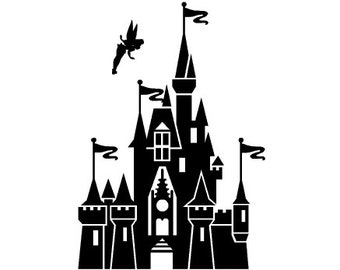 Magic Kingdom Castle - DisneyWorld - Disney World - vinyl decal, sticker - NEW