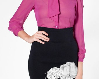 My Star Wars AT-AT Pet - American Apparel Pencil Skirt ( Star Wars Skirt )