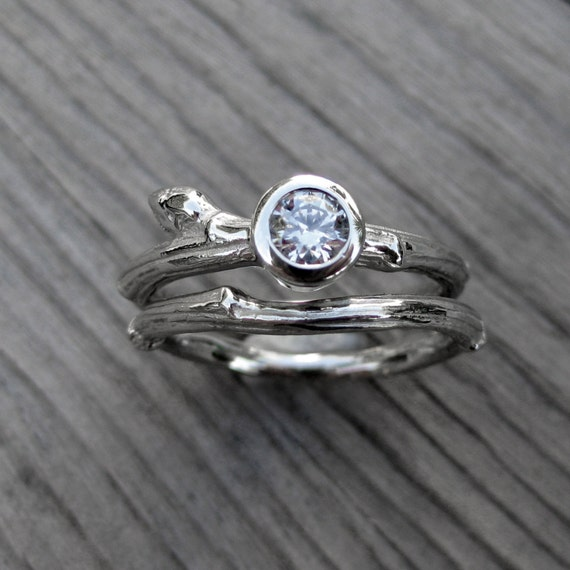 branch wedding rings - photo #31