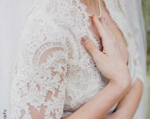 Stella |  French Lace Bolero with Sleeve