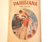 Vintage Pin-Up Gentlemen's Magazine Parisiana 1920's Art and Comedy with Ladies in Lingerie