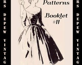 Vintage Pattern Booklet Spadea 1950's Catalog 54 Pages of Mind Blowing Gorgeous Fashion PDF -INSTANT DOWNLOAD-